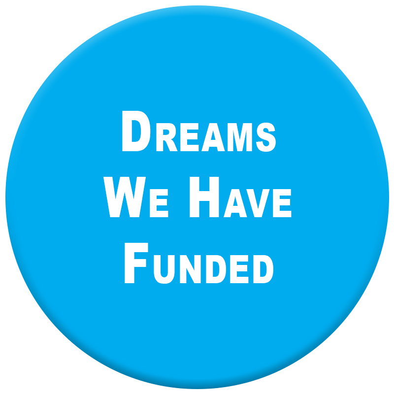 Click here to see Dreams we have funded