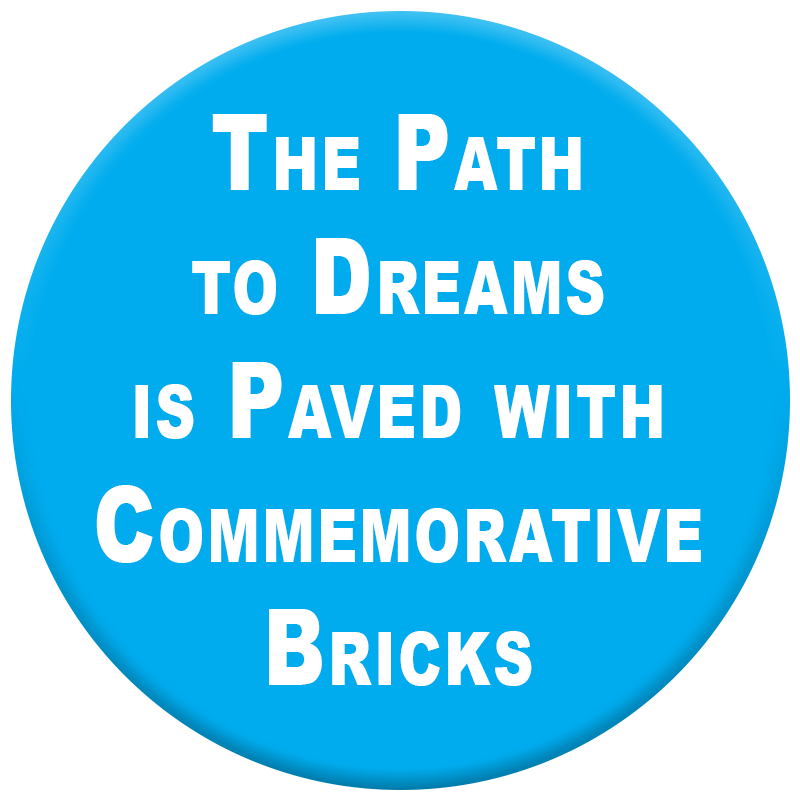 Support Us with a Commemorative Brick!